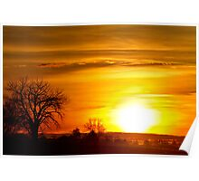 Country Sunrise 1-27-11 Poster