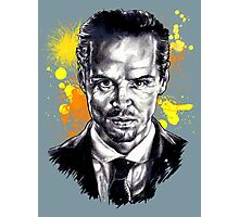 Jim Moriarty + paint Photographic Print