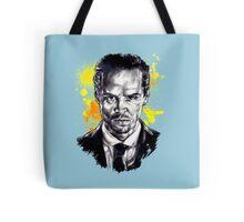 Jim Moriarty + paint Tote Bag