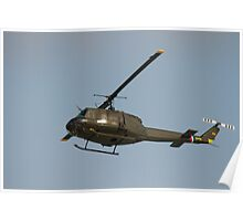 """Bell UH-1H """"Huey"""" helicopters Poster"""