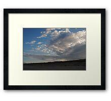 Floridian Horizon Framed Print