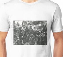 William Wallace Bound on way to Westminster Hall 1305 Unisex T-Shirt