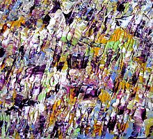 Colorful Abstract Art work by ShiningEyeArts