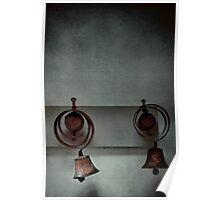 Rustic bells Poster