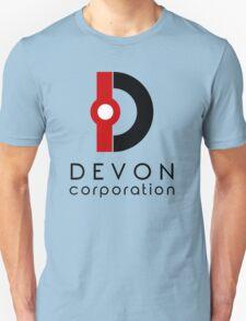 Devon Corporation Logo (in Black) Unisex T-Shirt