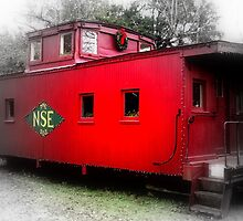 Lil Red Caboose by Dawn di Donato