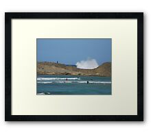 Puerto Rico Moutains Framed Print