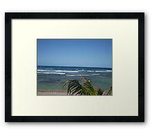 Puerto Rico Beach Framed Print