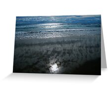 SCREEN OCEAN  Greeting Card