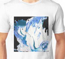 Blue, Black & White  Unisex T-Shirt