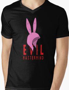 Evil Mastermind Mens V-Neck T-Shirt