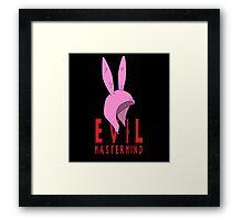 Evil Mastermind Framed Print