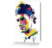 Roger Federer art Greeting Card