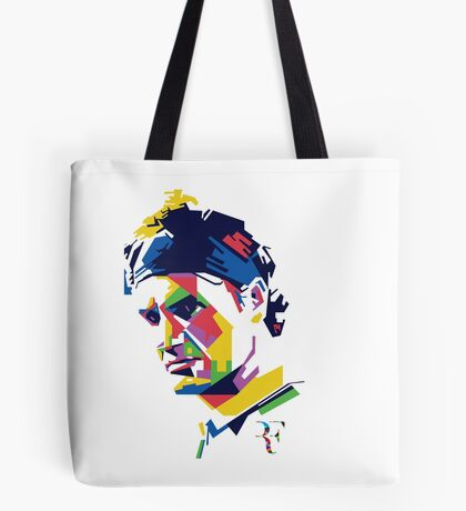 Roger Federer art Tote Bag