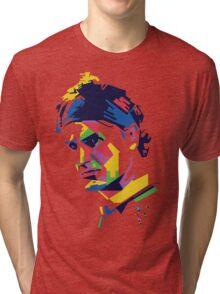 Roger Federer art Tri-blend T-Shirt