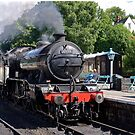 Grosmont Station by John (Mike)  Dobson