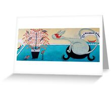 Venice in the afternoon Greeting Card