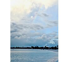 Rainbow at Grace Bay Beach Photographic Print