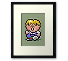 Pokey Minch - Earthbound/Mother 2 Framed Print