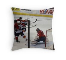 Washington Capitals: Varlamov Protects his Goal Throw Pillow