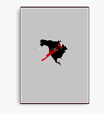 american psycho   -   minimalist  Canvas Print