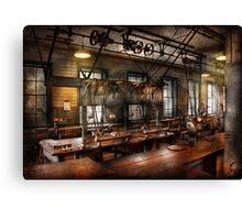 Steampunk - The Workshop Canvas Print