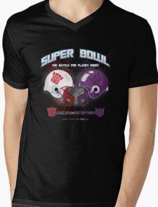 Intergallactic Super Bowl Mens V-Neck T-Shirt