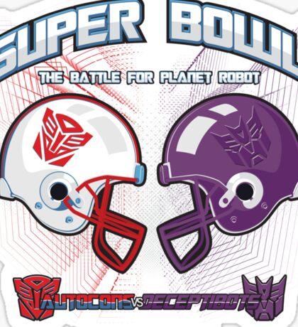 Intergallactic Super Bowl Sticker