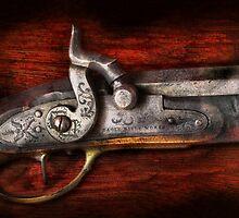 Gun - Rifle Works  by Mike  Savad