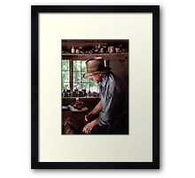 Pottery - The Potter III Framed Print