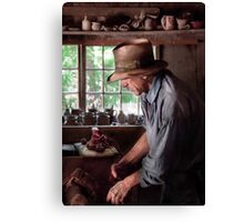 Pottery - The Potter III Canvas Print