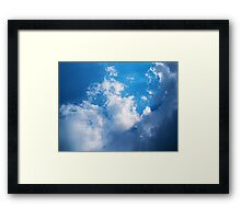 Shining Light Framed Print