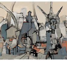 Shanty Wheels Ruin by Matt Thurston