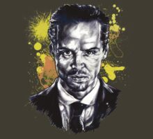 Jim Moriarty + paint by Susanna Olmi