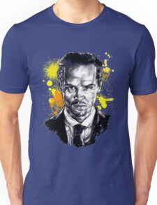 Jim Moriarty + paint Unisex T-Shirt