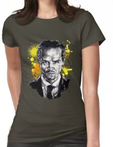 Jim Moriarty + paint Womens Fitted T-Shirt