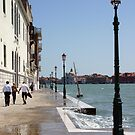 "Marciapiede Vicino al Mare by Christine ""Xine"" Segalas"
