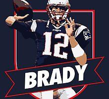 Tom Brady - Patriots by twyland