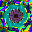 Rainbow Rosettes and Fans (friends, plz read description) by Charldia