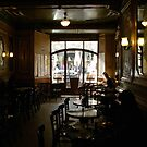 Cafe Atmosphere - Barcelona - Spain by mikequigley
