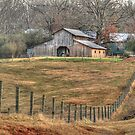 Another Old Barn in Homer Georgia by Chelei