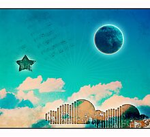 the music of night n' day Photographic Print
