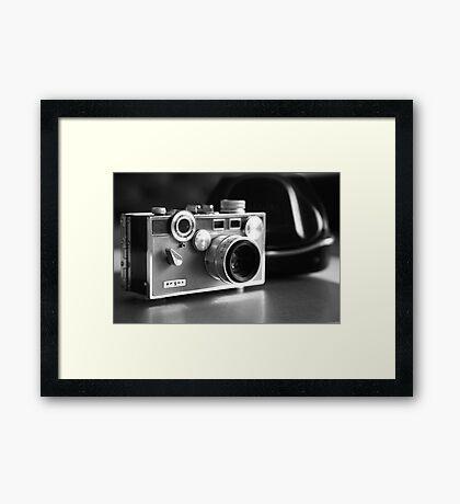'The Brick' ...black and white  Framed Print