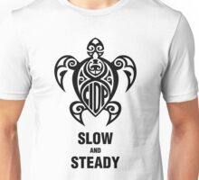 CIDP Turtle Black Slow & Steady Unisex T-Shirt