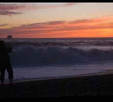 Land of the Twilight,   Rialto Beach by lizalady