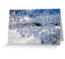Crystal Blue Persuasion Greeting Card