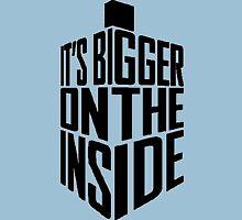 Bigger on the inside - Dark Unisex T-Shirt