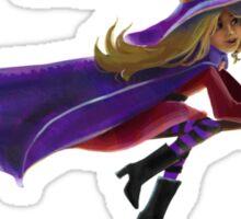 NY Witch Sticker