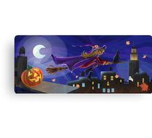 NY Witch Canvas Print