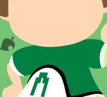 Villager ♀ (2) - Super Smash Bros. Sticker